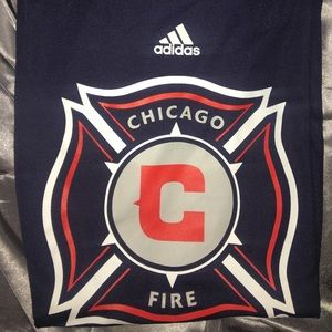 adidas Tops - Chicago Fire Polyester shirt